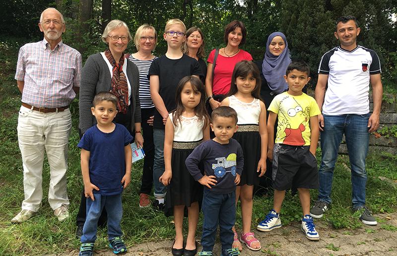 Vereine unterstützen Flüchtlinge